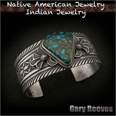 Gary Reeves Navajo turquoise  Native American Indian Jewelry Sterling Silver Bracelet  http://item.rakuten.co.jp/auc-wildhearts/na2321r73/