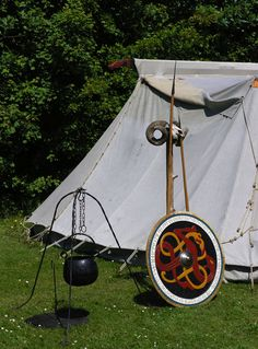 Viking Festival - Viking tent and tools