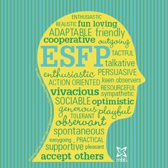 Check out this ESFP type head!  #ESFP #mbti #myersbriggs