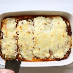 Low Carb Eggplant Lasagna Recipe Without Noodles - Gluten-Free - This healthy low carb eggplant lasagna recipe without noodles is quick and easy to make, using simple ingredients. Just 20 minutes prep time! #wholesomeyum #lowcarb #glutenfree #dinner #easy