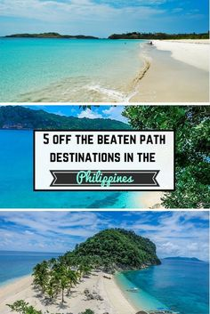 The Philippines is a popular travel destination. Here is 5 off the beaten path places to visit in Iloilo, Mindanao, and elsewhere.