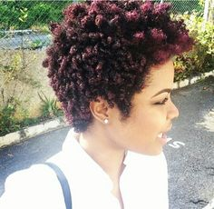 Tapered natural hair with color. Part of my wants to cut my hair so badly Tapered Natural Hair, Pelo Natural, Tapered Afro, Natural Curls, My Hairstyle, Afro Hairstyles, Summer Hairstyles, Black Power, Dreads