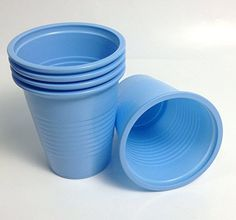 Patient #Drinking #Cups Size 5 Oz Plastic Disposable Blue 1000 pcs/box. Made with sturdy plastic material. Ideal for: Dental (rinse mouth) and medical purposes (o...