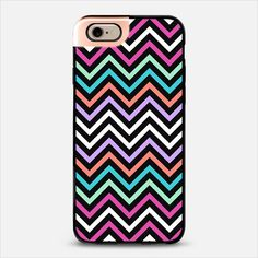 Colorful Modern Chevron iPhone 6 Metaluxe case by Organic Saturation | Casetify Get $10 off using code: 53ZPEA