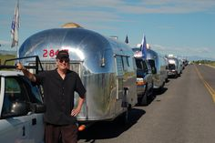 1958 Airstream   Flying Cloud    I wouldnt mind being stuck in this traffic jam!  Saint Helena, California