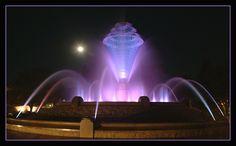 Bayliss Park Fountain in Council Bluffs, Iowa