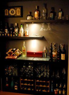 Tự chế một quầy bar độc đáo cho ngôi nhà của bạn
