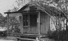 Aripeka Post Office  Hernando County, Florida  1921  Courtesy of Marcia Meade