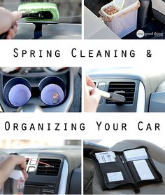 Now that spring is here, it's time to wipe away the grime and make your car look like new...inside and out!