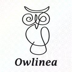 Exclusive Customizable Logo For Sale: Owlinea | StockLogos.com