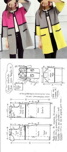 Geometric jacket...
