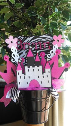 Princess Birthday Party Centerpiece by ASweetCelebration on Etsy, $32.50