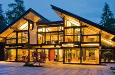 Green modular buildings for home or office.