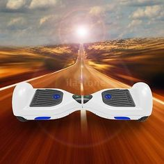 "UL2272 6.5"" Inch 2 Wheel Balancing skateboard Electric Scooter White K2D0"