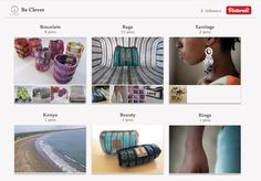 Be Clever on Pinterest  November 2012/ March 2013