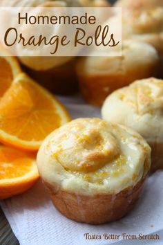 Homemade Orange Rolls {Guest Post} | Tastes Better From Scratch #orange #rolls