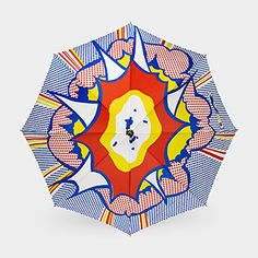 Roy Lichtenstein: Explosion Umbrella