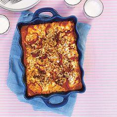 Lasagne med fetaost och paprika