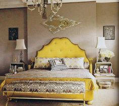 Trend Spotting Mimosa Yellow Interiors in Design, Home Decor, Art, Accessories, Style and Fashion. Featured: Pantone Color of the Year 2009 Mimosa Color Palettes in the home