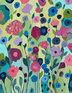 Original Painting--Sattva 14x18 - A Carrie Schmitt Original. www.carrieschmittdesign.com