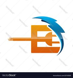 Initial letter e logo template colored blue and vector image on VectorStock Letter E, Initial Letters, Letter Logo, Logo Templates, Adobe Illustrator, Egypt, Vector Free, Initials, Identity