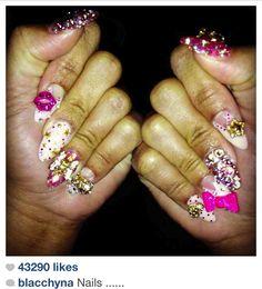 blac chyna nails