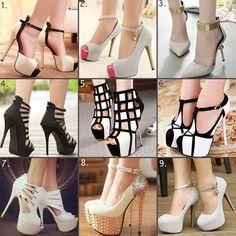 Nancy Jayjii high heel platform women shoes #NancyJayjii #Highheels #Womenshoes
