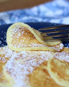 Cream Cheese Pancakes (Low Carb & Gluten Free)