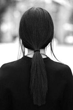 classic low pony #hair