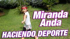 Rutina de ejercicios divertidos /♥ Miranda anda haciendo ejercicios fáciles
