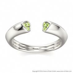 Very cool. ........Romantic Designer Ring WAY OF LOVE at Colors of Eden #green