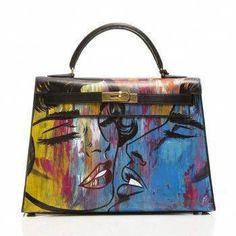 7c9e837e6e5 37 Best painting bag images | Hermes bags, Hermes handbags, Louis ...