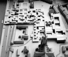 Frankfurt Romerburg Development, Josic, Shadrach, Candilis, 1963, Frankfurt, Germany
