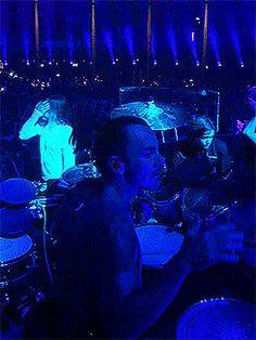 Click on the image to see Shannon keep the beat.