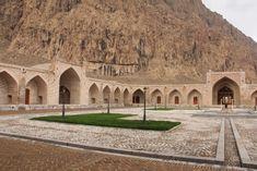 Kermanshah - inside the Safavid Caravanserai.