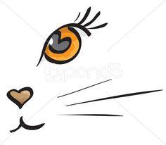 dibujar bigotes de gato - Buscar con Google