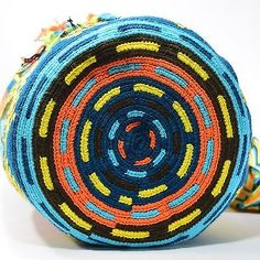 Подлинные Большие WAYUU маленькая сумка 100% колумбийский, богемный Hobo лучших ручной работы 407