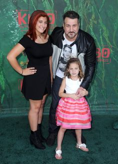 Pin for Later: Joey Fatone Is Upstaged by His 2 Adorable Daughters on the Red Carpet