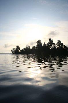 Black Lake, New York - site of many childhood fishing trips