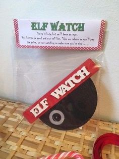 Santa Elf surveillance Cam, Elf Watch ,Christmas FunYou can choose from two designs item is hand painted and includes stick tabs to enable you to place you surveillance camera in your desired location Order yours now before they sell out ! Santa Cam, Family Tree Frame, Birthday Gifts For Her, Memory Books, Family Adventure, Christmas Fun, Teacher Gifts, Handmade Items