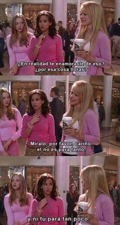 Chicas pesadas love quotes, funny quotes, netflix, mean girls, funny pictur Movie Memes, Movie Quotes, Funny Quotes, Funny Memes, Flirting Messages, Flirting Quotes, Mean Girls, Mean Girl Quotes, Bts Girl