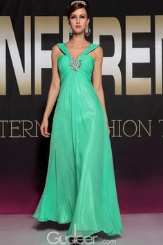 minit beaded crystal ruched sleeveless long chiffon prom dress