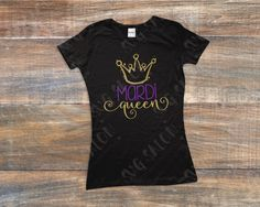 Mardi Queen Cut File in SVG, EPS, DXF, JPEG, and PNG