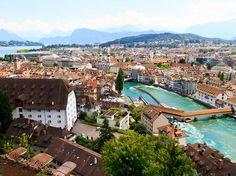 #Lucerne, #Switzerland #travel #destination