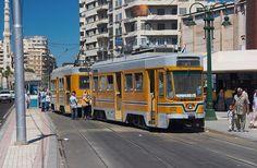 #Alexandria tram cars (Egypt)
