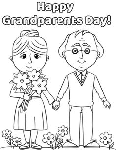 grandparents day crafts for preschoolers Best 20 Free Coloring Pages Grandparents Day happy grandparents day 0 Best 20 Grandparents Day Preschool, Grandparents Day Cards, National Grandparents Day, Doodle Coloring, Coloring Pages To Print, Printable Coloring Pages, Coloring Pages For Kids, Quotes Girlfriend, Daughter Quotes