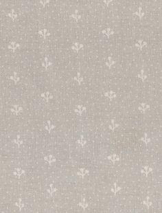 Little Dotted Sprigs Stone Grey