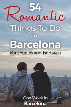Barcelona is a romantic city! No wonder, with all the narrowed streets in the beautiful old town of El Gótico, the cities beach front, a delicious cuisine and so much more. It is even a great spot for proposals! This is my huge list of romantic spots and romantic things to do in Barcelona as a couple. Make sure you also check out my articles on how to spend an awesome One Week In Barcelona. http://one-week-in.com/54-romantic-things-to-do-barcelona/