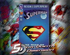 SUPERMAN # 78 REIGN OF SUPERMEN $ 90.00 Para más información, contáctanos en http://www.facebook.com/la5aDimension