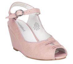 Put a little Spring into your step with the classic look of the pink Jeffrey Campbell Viviana Wedge!